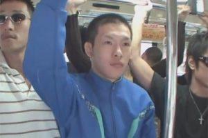 【ゲイ動画】イモショタなジャージ姿のDKが通学途中のバスでトラウマレベルの同性からの痴漢とレイプで犯されることに…!