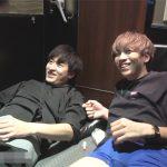【ゲイ動画】ビデボでAVを見ていたノンケのジャニ系イケメン2人がムラムラしオナニー!温かいザーメンはお互いに太ももにぶっかけ合う!