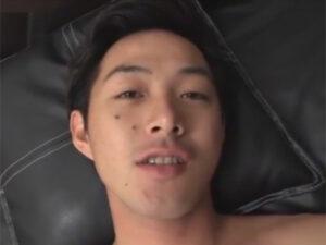 【ゲイ動画】色っぽいイケメンを生チンポでガン掘り!ゴーグルマンに下半身を舐り倒され正常位肛門性交で犯され顔射されてしまう!