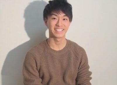 【ゲイ動画】お馬鹿なボディビルダーの横川君に似ているノンケの男がゴーグルマンにチンコを激しくいじられることになる!