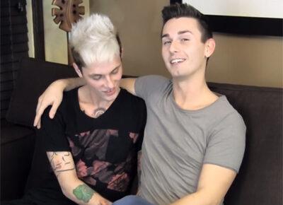 【外国人ゲイ動画】ヤンチャ系の2人のタトゥーだらけの白人の男がアナルセックスで激しく乱れることになる!