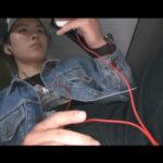 【ゲイ動画】バスの最後部に座りオナっていたフリーターのノンケ青年が同じバスに乗車していたゲイに見つかりフェラと手コキでヌカれてしまう!