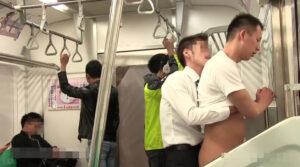 電車_痴漢_ハッテン_立ちバック_ゲイ画像4