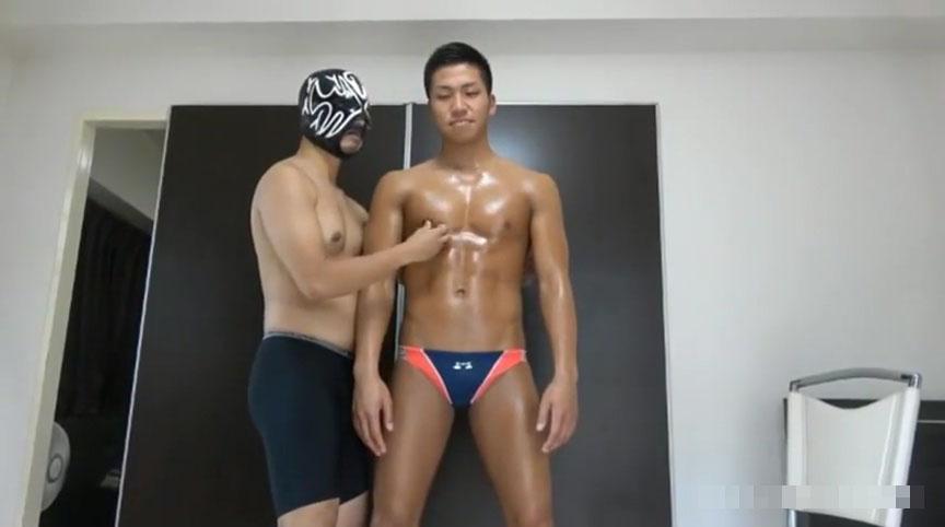 ゲイ 競パン 学生 フェラ