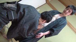 ふんどし_和室でAF_オナ現場_浴衣_ゲイ画像2
