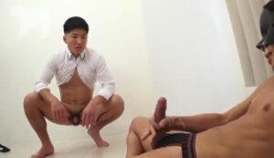 スパンキング_M男_バラ鞭_オナ見_ゲイ画像6