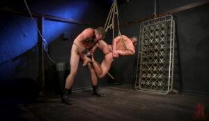 吊り緊縛_ボールギャグ_SMセックス_外国人_ゲイ画像3
