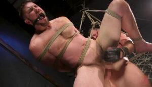吊り緊縛_ボールギャグ_SMセックス_外国人_ゲイ画像6