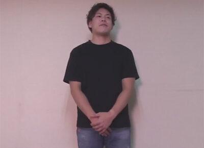 【ゲイ動画】ノンケの男がゴーグルマンにHなことを次々とされてアナルバイブでも乱れることになる!