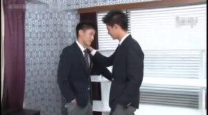 男子校生_ブレザー_アナルセックス_顔射_ゲイ画像1