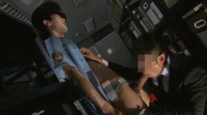 警備員_リーマンと夜な夜なSEX_オフィス_正常位_ゲイ画像1