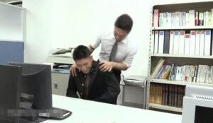 職員室_先生とハッテンする男子校生_オナニー_イケメン_ゲイ画像2
