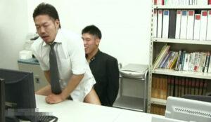 職員室_先生とハッテンする男子校生_オナニー_イケメン_ゲイ画像4