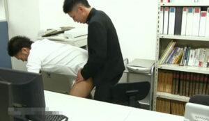 職員室_先生とハッテンする男子校生_オナニー_イケメン_ゲイ画像5