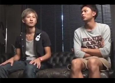 【ゲイ動画】2人のジャニーズ系のスジ筋なイケメンがアナルセックスを愛を感じながら激しく楽しみあうことになる!