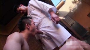三助_細マッチョリーマン_温泉でSEX_アナルファック_ゲイ画像2