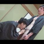 【ゲイ動画】和室で朝っぱらからムラムラしてオナっていたふんどし男子がオナ現場を見られてしまい生ハメ肛門性交にハッテンする!
